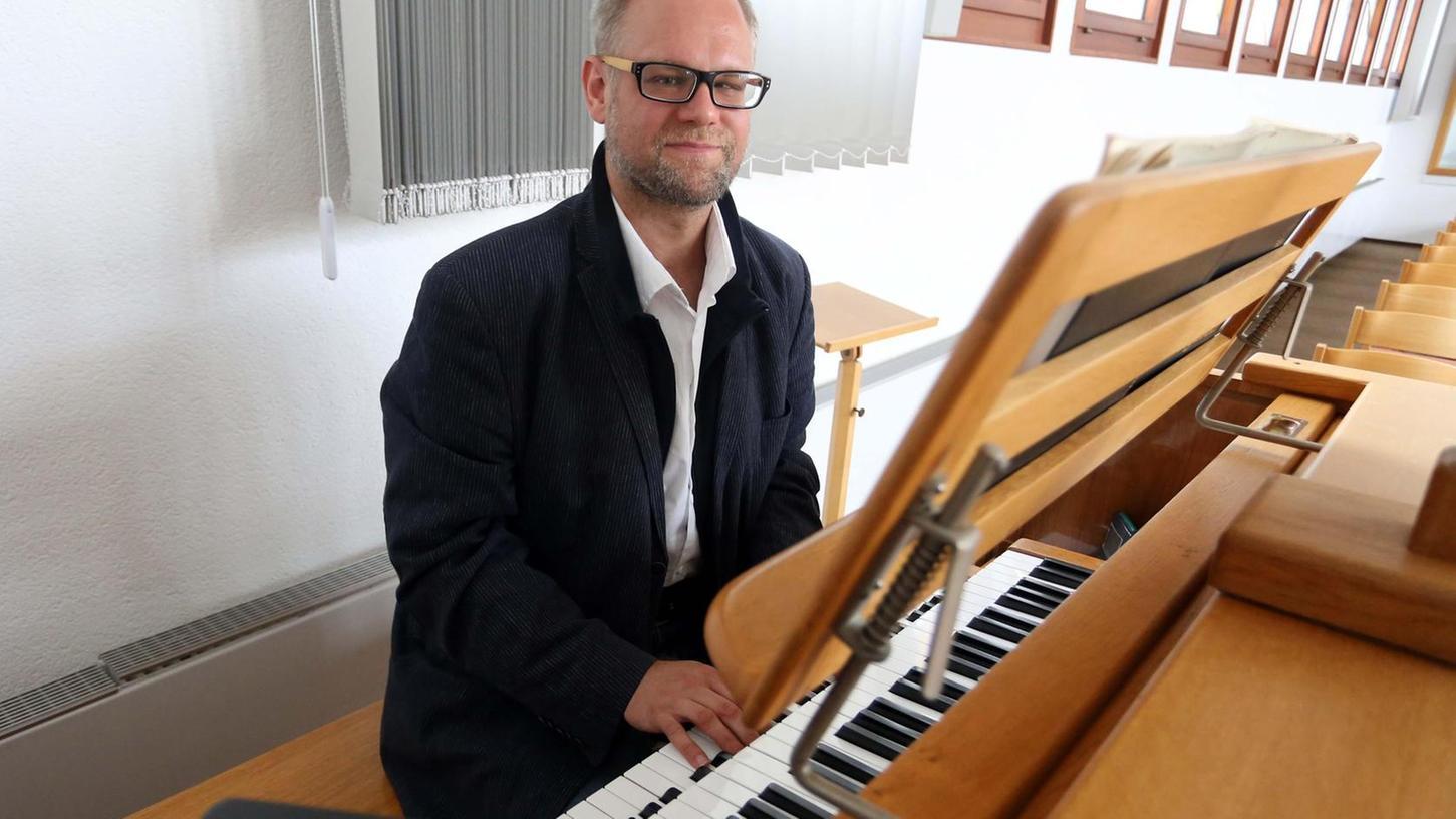 Alexander Därr bietet auch Orgelunterricht an.