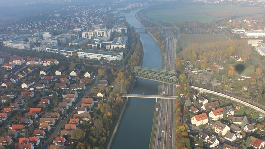Nürnberg aus der Vogelperspektive: Ballonfahrt über Franken