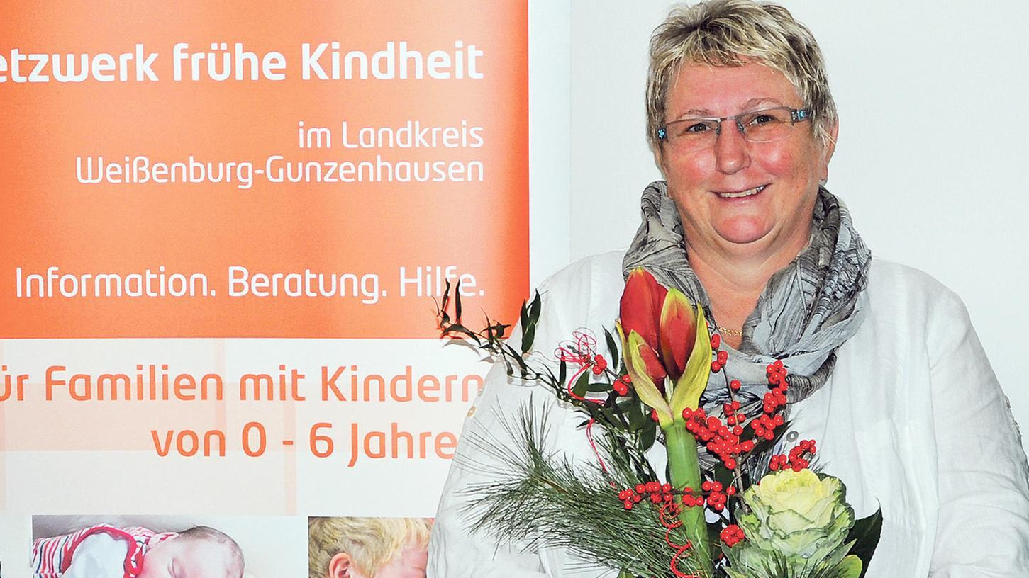 Hebamme mit Leib und Seele: Gabi Bergelt.