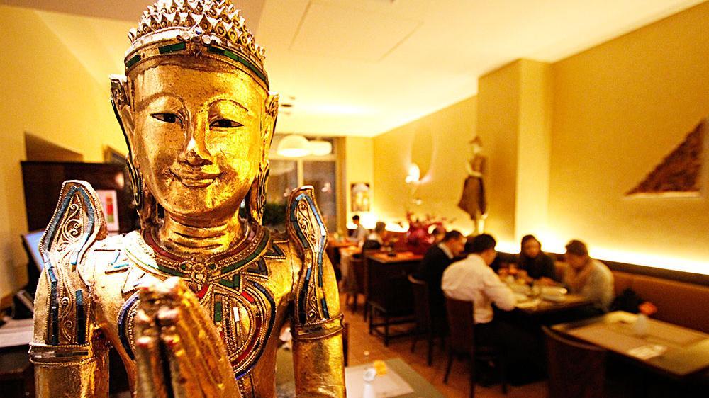 """Das """"Tawan Thai"""" gegenüber dem Germanischen Nationalmuseum gibt es seit neun Jahren. Jetzt wurde es von Fani Bourli übernommen und umgestaltet."""