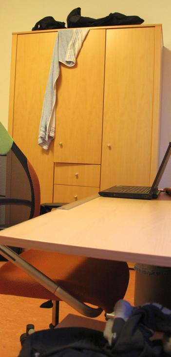 Zimmer im FCN-Internat
