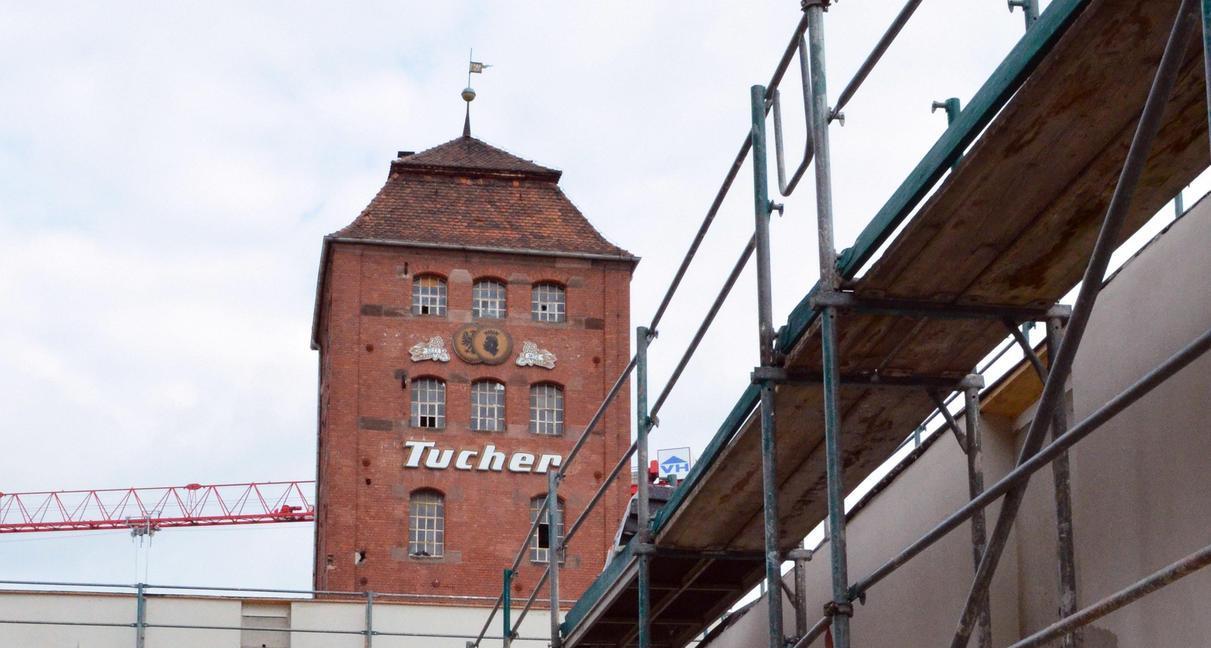 Im Umfeld des Turms wird es eine Weizenbier-Brauerei geben.
