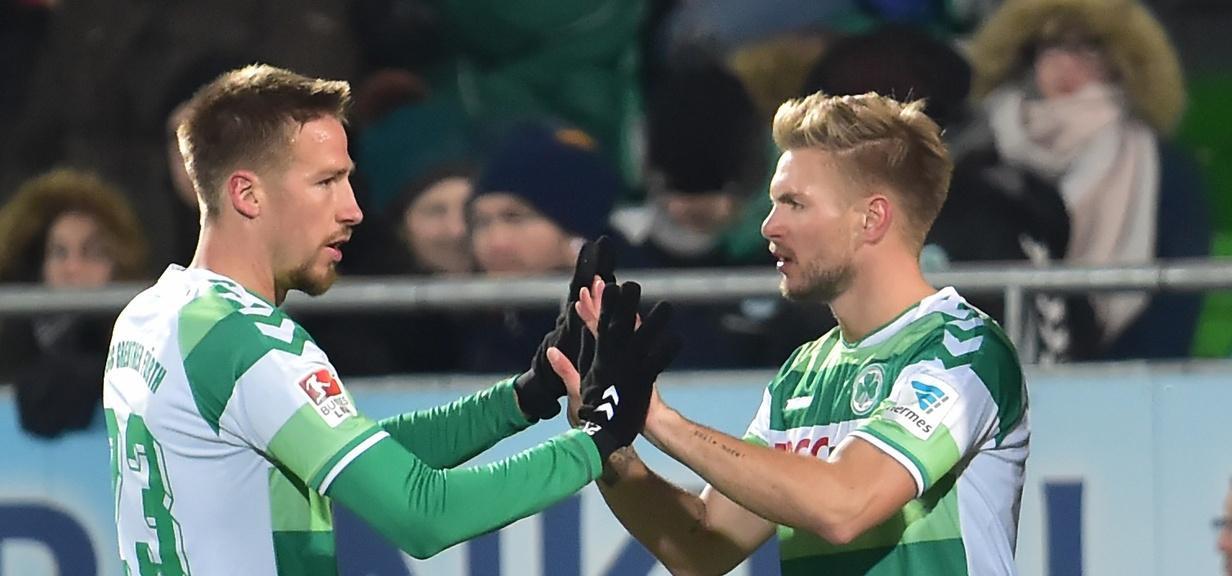 Marco Stiepermann (links) und Florian Trinks sind sich einig: RB Leipzig ist nichts Böses.