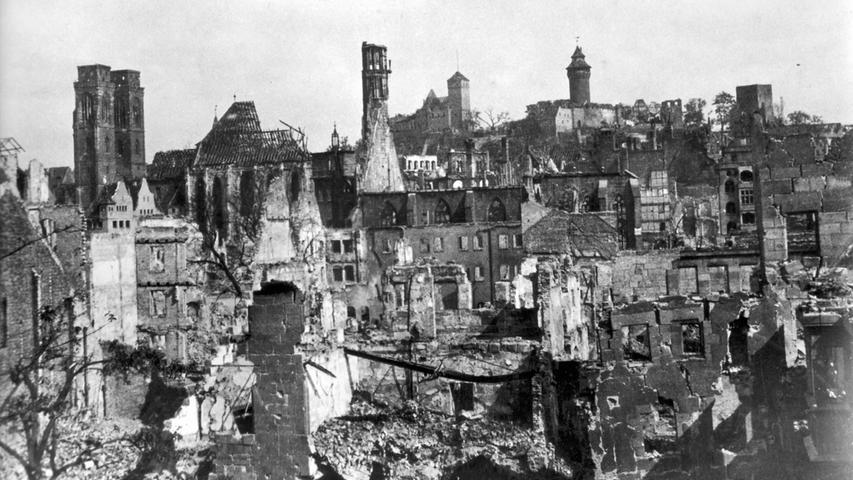 Von dem Inferno und der Zerstörung ließ sich kurz nach dem Angriff nur wenig sehen, denn...