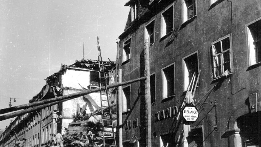 Das NS-Regime gab sich auch in den ersten Monaten 1945 nicht geschlagen. Der Luftangriff auf Nürnberg ist Teil der Geschichte des Zweiten Weltkrieges, die mit...