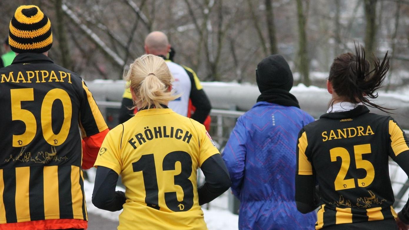 Vier verschiednene Distanzen galt es beim Silvesterlauf in Nürnberg zu bewältigen.