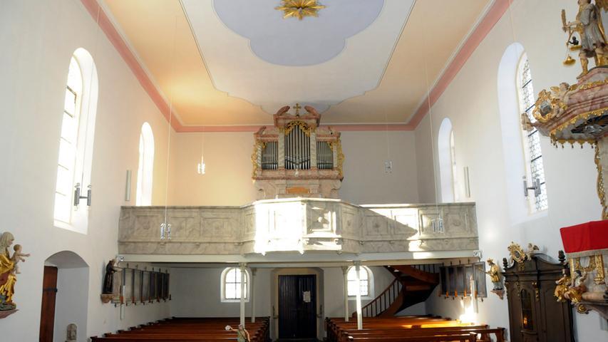 Kirche St. Martin in Hohenmirsberg in neuem Glanz