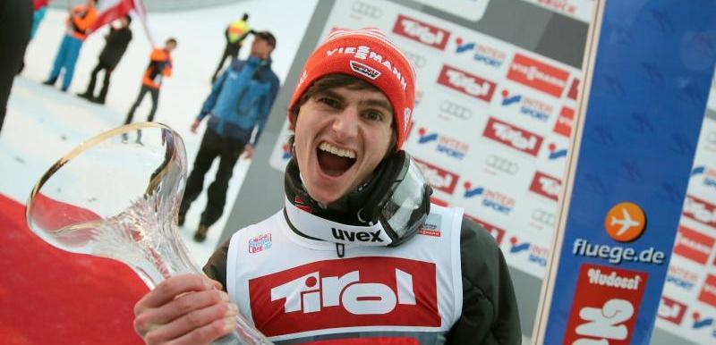 Richard Freitag gewann das Springen in Innsbruck.