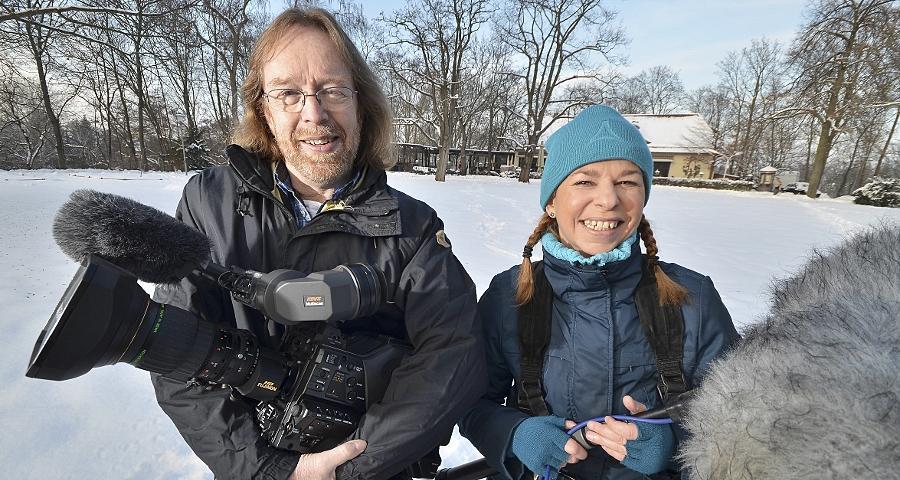 Ein Zweier-Team, das seit Jahren die Nischen des privaten Lokalfernsehens mit Qualität und äußerst sehenswerten Produktionen füllt: Thomas Steigerwald und Julia Thomas von Medien Praxis e.V. in Fürth.