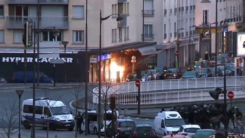 Terror in Paris: Geiselnahme in jüdischem Supermarkt