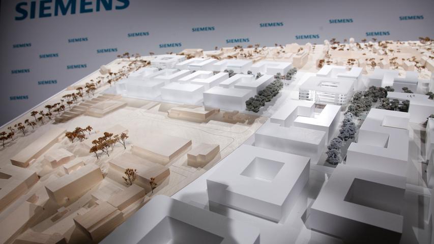 ABRECHNUNG: Pauschale ..RESSORT: Lokales _ ZEITUNG: NNZ _ Ausgabe: HA..DATUM:  16.01.2015..FOTO: ©Giulia Iannicelli (Pauschale) ..MOTIV: Bekanntgabe des  Siegers im Architekturwettbewerb zum Siemens Campus......