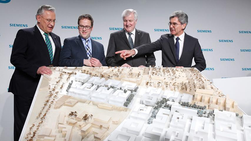 ABRECHNUNG: Pauschale ..RESSORT: Lokales _ ZEITUNG: EN _ Ausgabe: ERL..DATUM:  16.01.2015..FOTO: ©Giulia Iannicelli (Pauschale) ..MOTIV: Bekanntgabe des  Siegers im Architekturwettbewerb zum Siemens Campus......