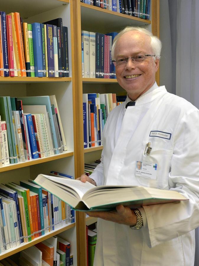 Der Direktor der Psychiatrischen und Psychotherapeutischen Klinik des Erlanger Uni-Klinikums, Professor Johannes Kornhuber.