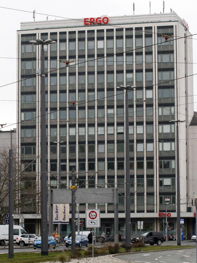 Was die Höhe und das Volumen angeht, soll sich der Neubau an dem Ergo-Hochhaus neben dem Hauptbahnhof orientieren.