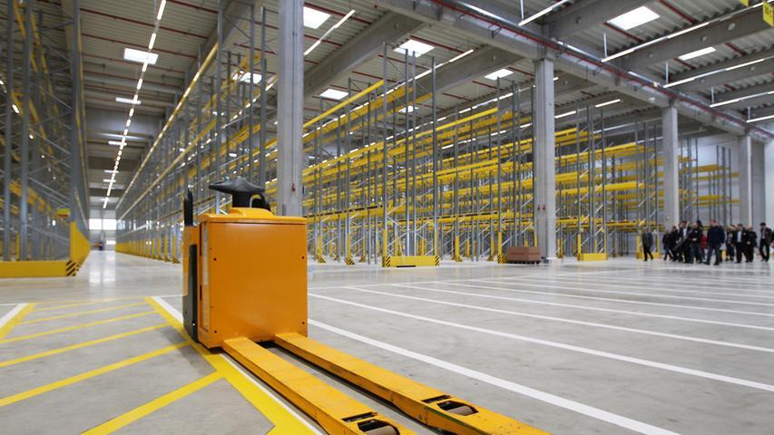 Für Kunden tabu: Das Lidl-Logistikzentrum in Eggolsheim