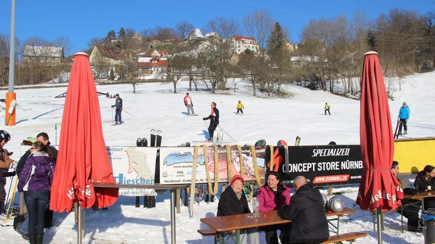 Sonniges Wochenende! So schön kann Winter in Franken sein