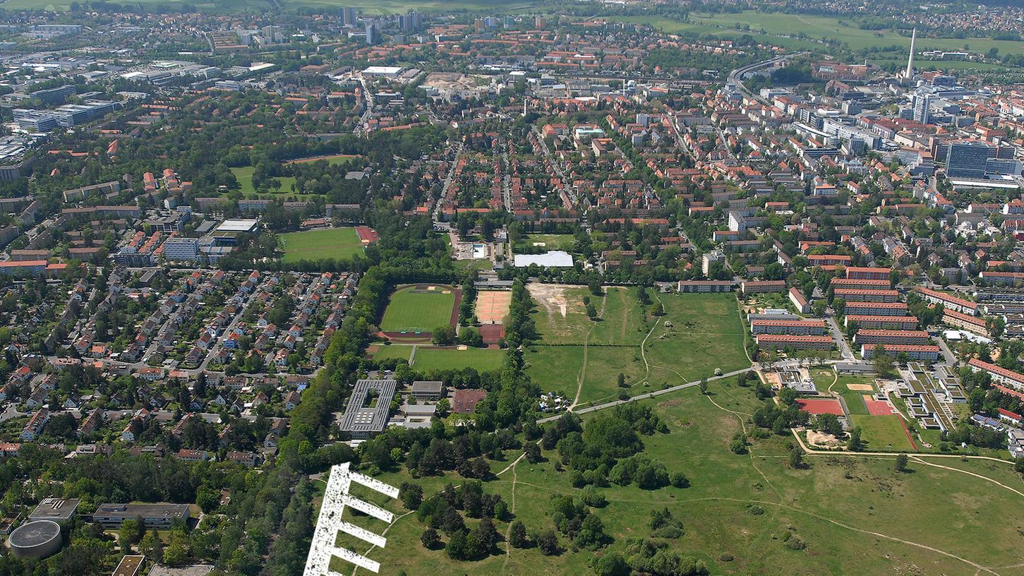 Mehrere Lehrstühle der Technischen Fakultät, die sich auf dem Südgelände befinden, sollen nach Nürnberg verlagert werden.