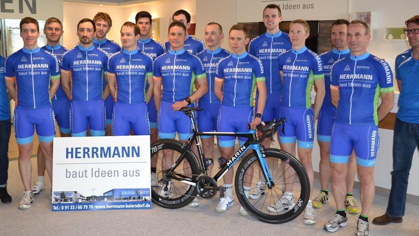 """Herpersdorfer Asse starten 2015 als """"Radteam Herrmann"""""""