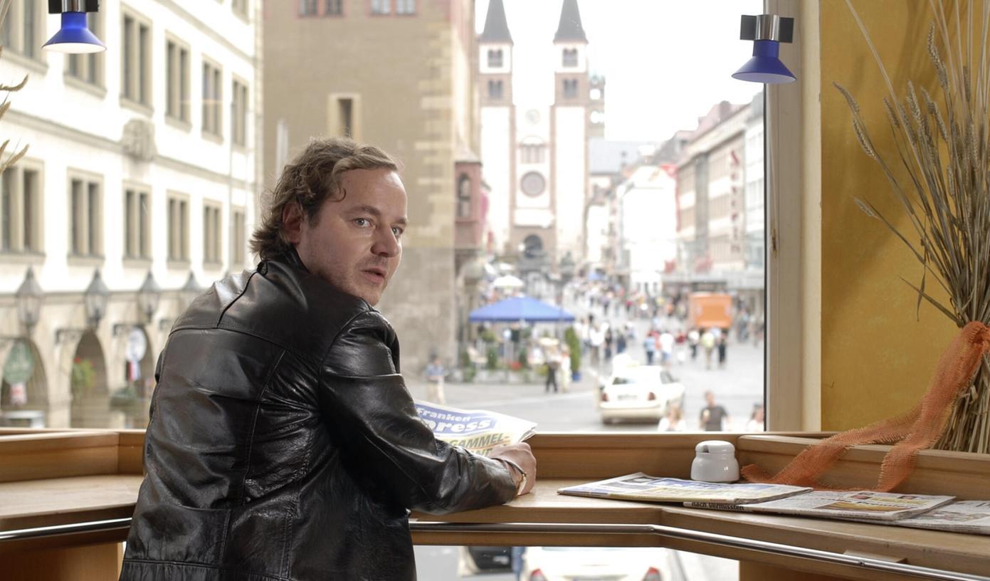 Thomas Schmauser als Ermittler in dem BR-Krimi