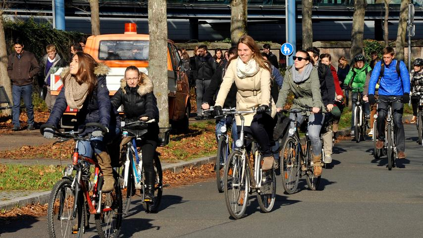 Fahrradstadt Nummer eins: ADFC kürt Erlangen