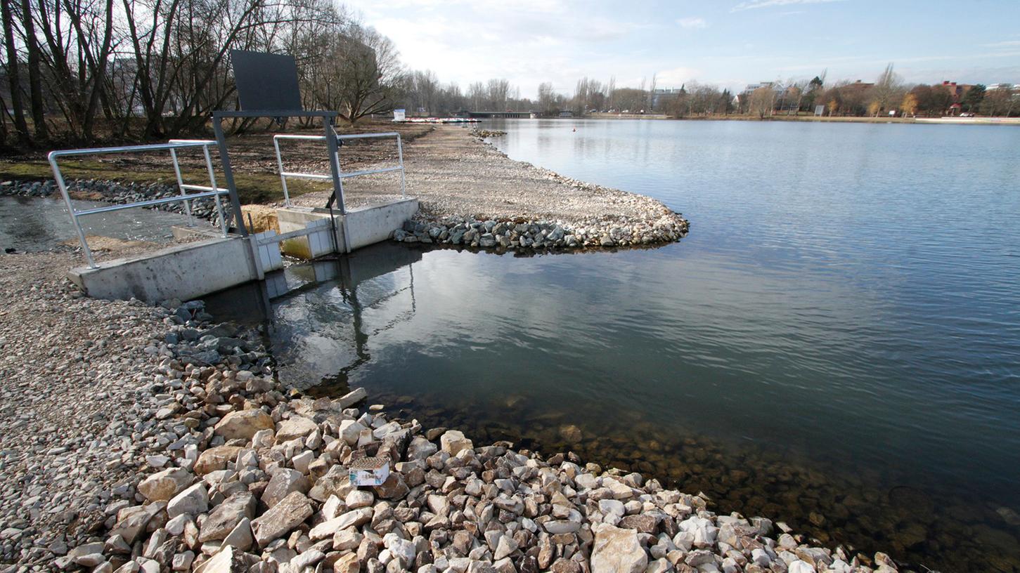 Das Südufer des Wöhrder Sees wird 2015 umfangreich geliftet.