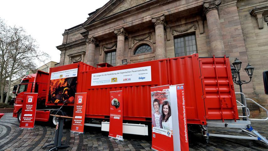 Rund 1,2 Millionen Euro hat der Freistaat für den Container zur Verfügung gestellt.