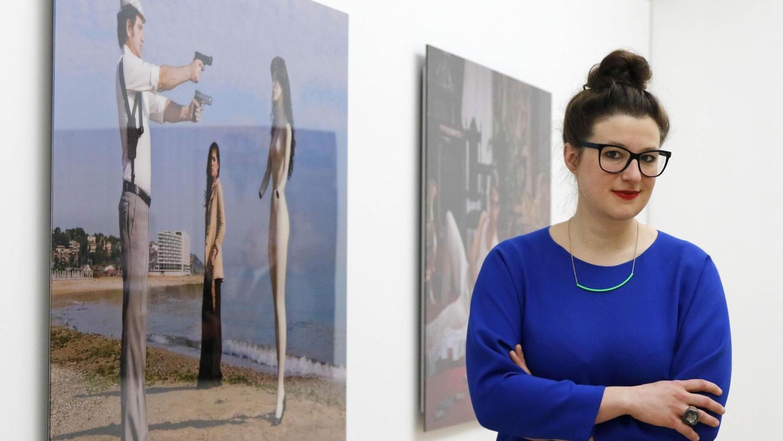 Auf bestem Weg in Erlangen heimisch zu werden: Die neue Kunstpalais-Chefin Amely Deiss.