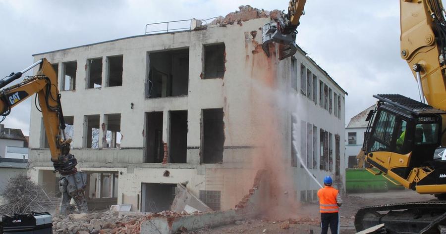Drei-S-Werk: Abriss binnen drei Monaten