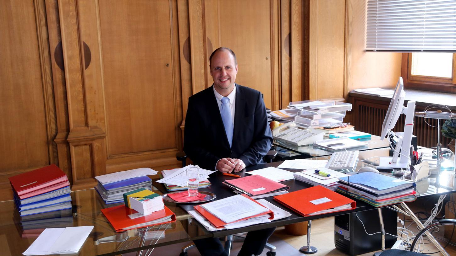 Konzentriert sich voll auf seine Rathaus-Karriere: Christian Vogel.