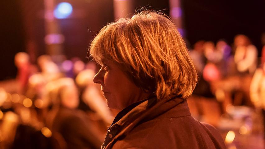 RESSORT: Fürther Nachrichten / HA Feuilleton..FOTO: HvD..MOTIV:  Auftakt-Doppelkonzert zum Klezmer-Intermezzo Fürth 2015 im Fürther Kulturforum  Schlachthof, Organisatorin Annette Wigger, 6. März 2015
