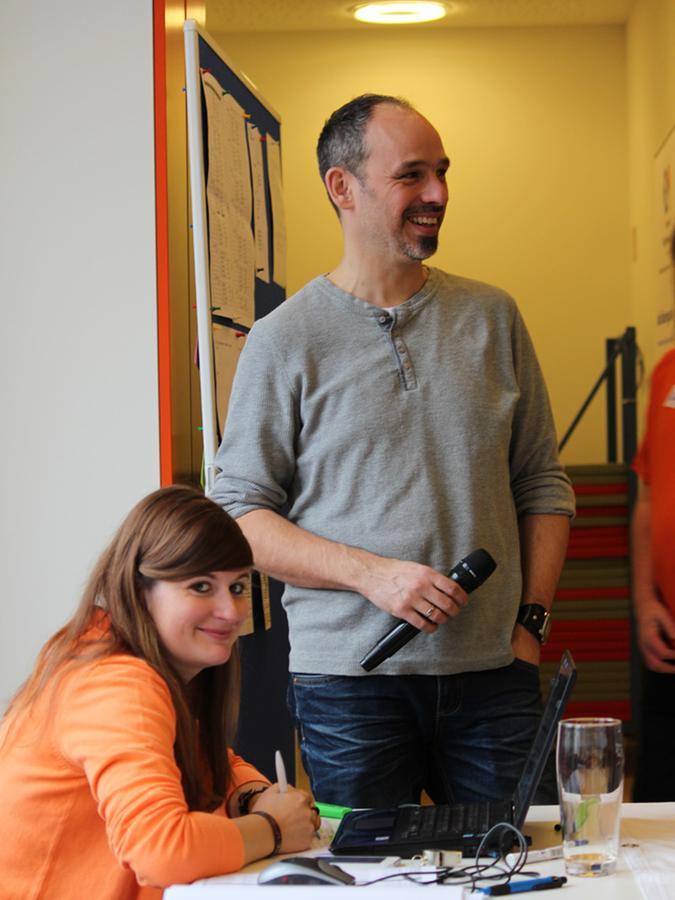 Christian Kohlert, stellvertretender Geschäftsführer des Stadtjugendrings und Stadtjugendpfleger in Erlangen