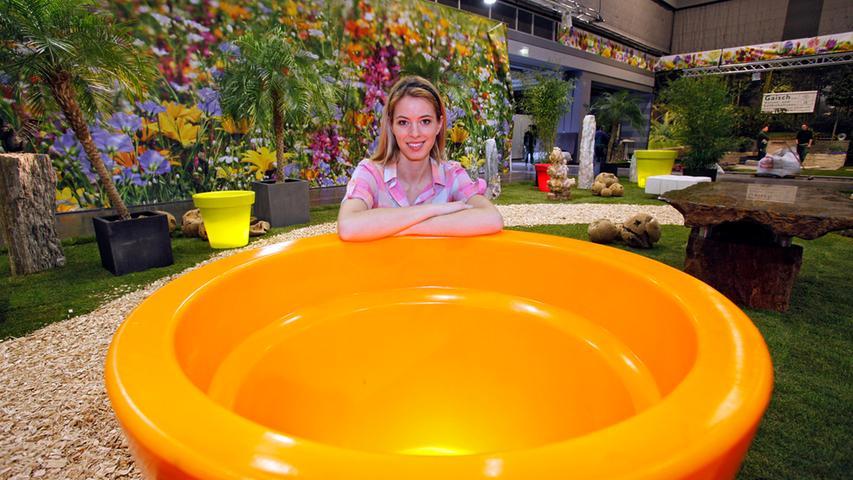 ...denn auf Bayerns größter Indoor-Gartenmesse werden die neuesten Gartentrends präsentiert,...