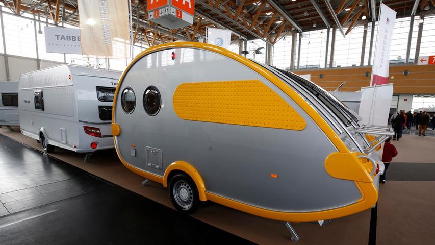 Nuernberg , 21.03.2015..Messe Freizeit und Garten , Caravan- Ausstellung,  ..Ressort: Blitz Lokales Fotografie: Stefan Hippel