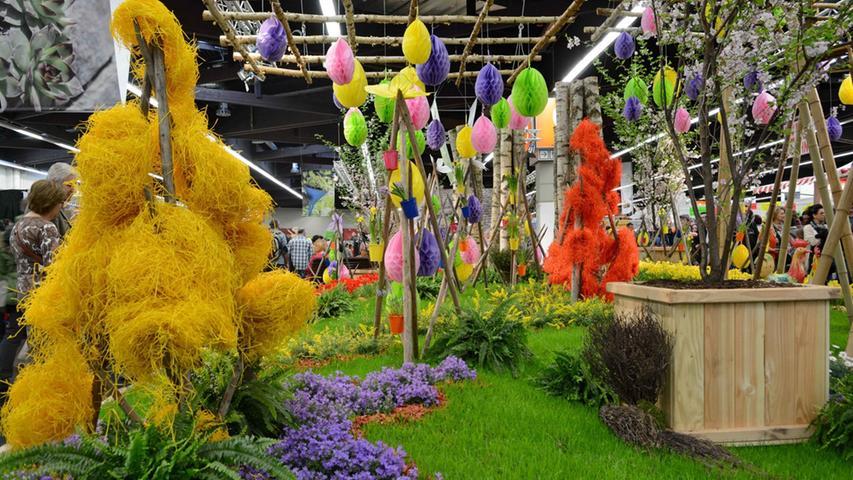 Die Freizeitmesse bietet viele Anregungen zur Gartengestaltung.