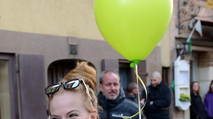 Freischanksaison in der Gustavstraße lautstark eröffnet