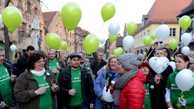 Gegen weitere Einschnitte: Der Protest der Initiative
