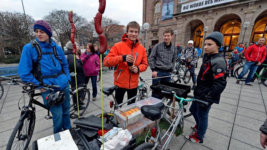 Critical Mass fordert Rechte für Radfahrer im Straßenverkehr