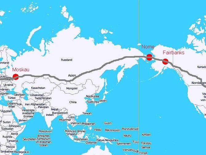 Seychellen Malediven Karte.Russland Schlägt Autobahn Von London Nach New York Vor Panorama