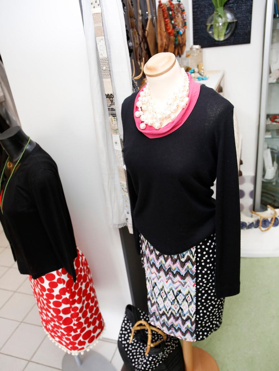 Nuernberg , 28.03.2015..Atelierladen Ielo , Kollektion Petra Maly , ..Ressort:  Lokales Fotografie: Stefan Hippel