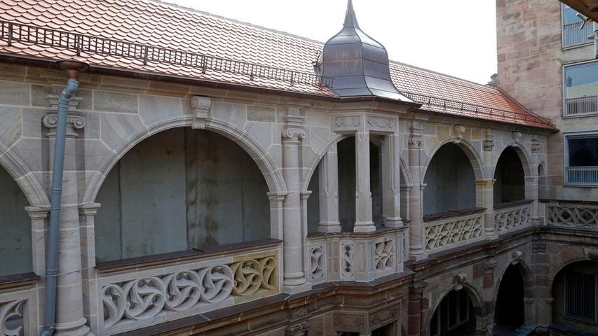 Zurück zu altem Glanz: Der Nürnberger Pellerhof