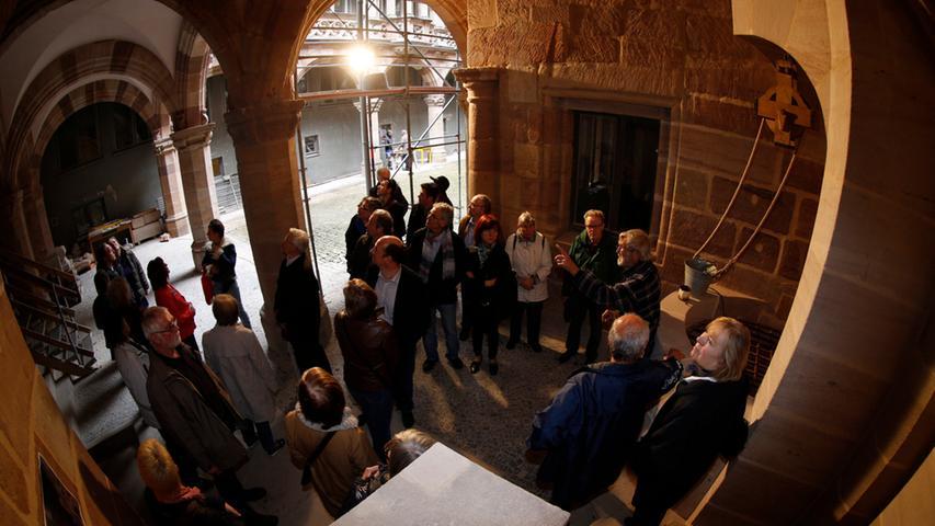 Nürnberger überzeugen sich von Fortschritten am Pellerhof