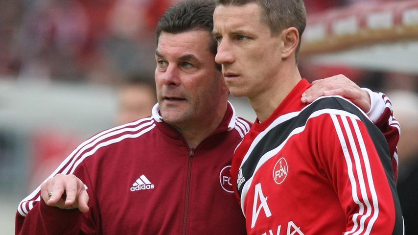 Erst als Coach, dann als Sportvorstand: Dieter Hecking beim Club