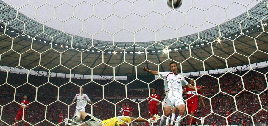 Im DFB-Pokalfinale 2007 gegen Meister VfB Stuttgart besorgte Mintal den Ausgleich für den Club.