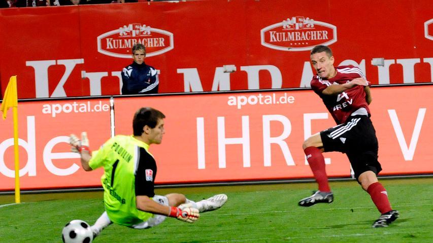 Mintal ging mit dem 1. FC Nürnberg zurück in die zweite Liga. Unter dem neuen Trainer Michael Oenning wurde er wieder zum Stammspieler und dankte es mit Toren.