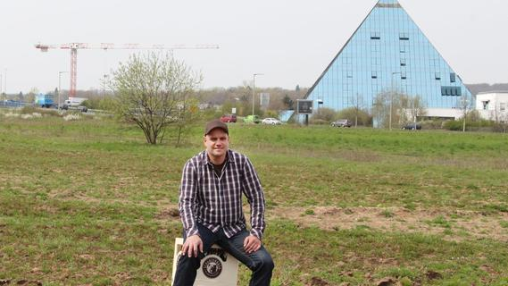 Vom Bierbrauer zum Unternehmer: Ende April will Stefan Stretz schon den ersten Spatenstich setzen.