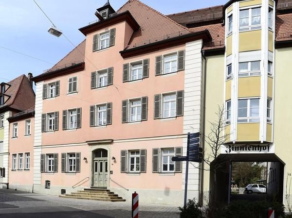 Die Anwesen Hördlertorstraße 12 und 14 waren Wohn- und Geschäftshaus der Brau-AG Schwabach.