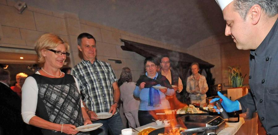 Gourmet-Abend mit dem Partnerschaftskomitee Les Sables