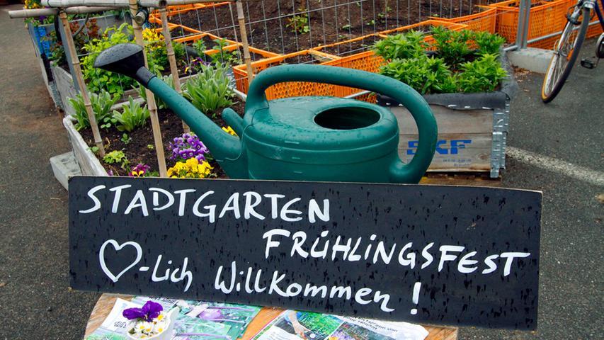 Frühlingsfest im Nürnberger Stadtgarten