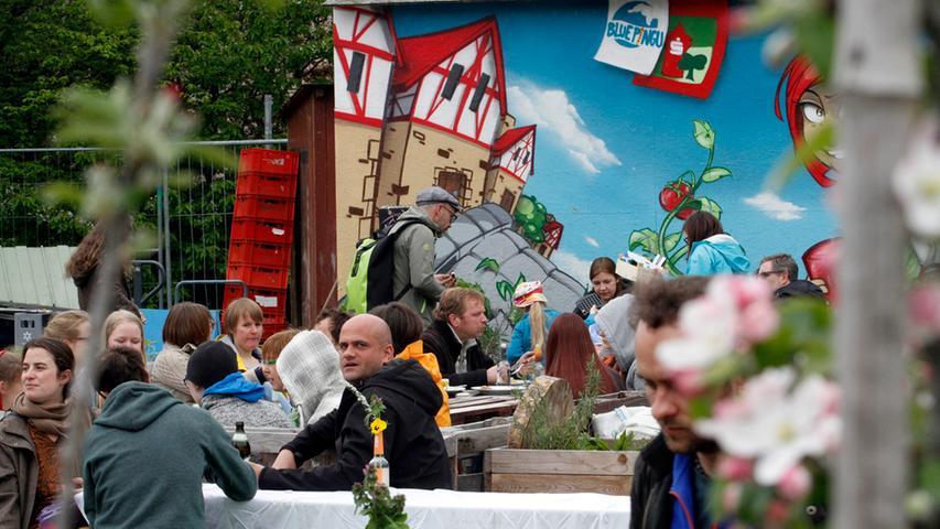 ANZEIGER Foto: Eduard Weigert Datum: 25.4.15..Stadtgarten Frühlingsfest