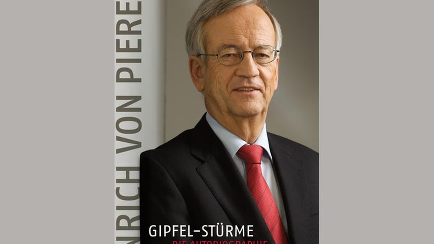 Quasi ein Geschenk zum 70. Geburtstag macht sich Heinrich von Pierer übrigens selbst: Gerade ist beim Econ-Verlag seine Biografie erschienen. Der Titel: